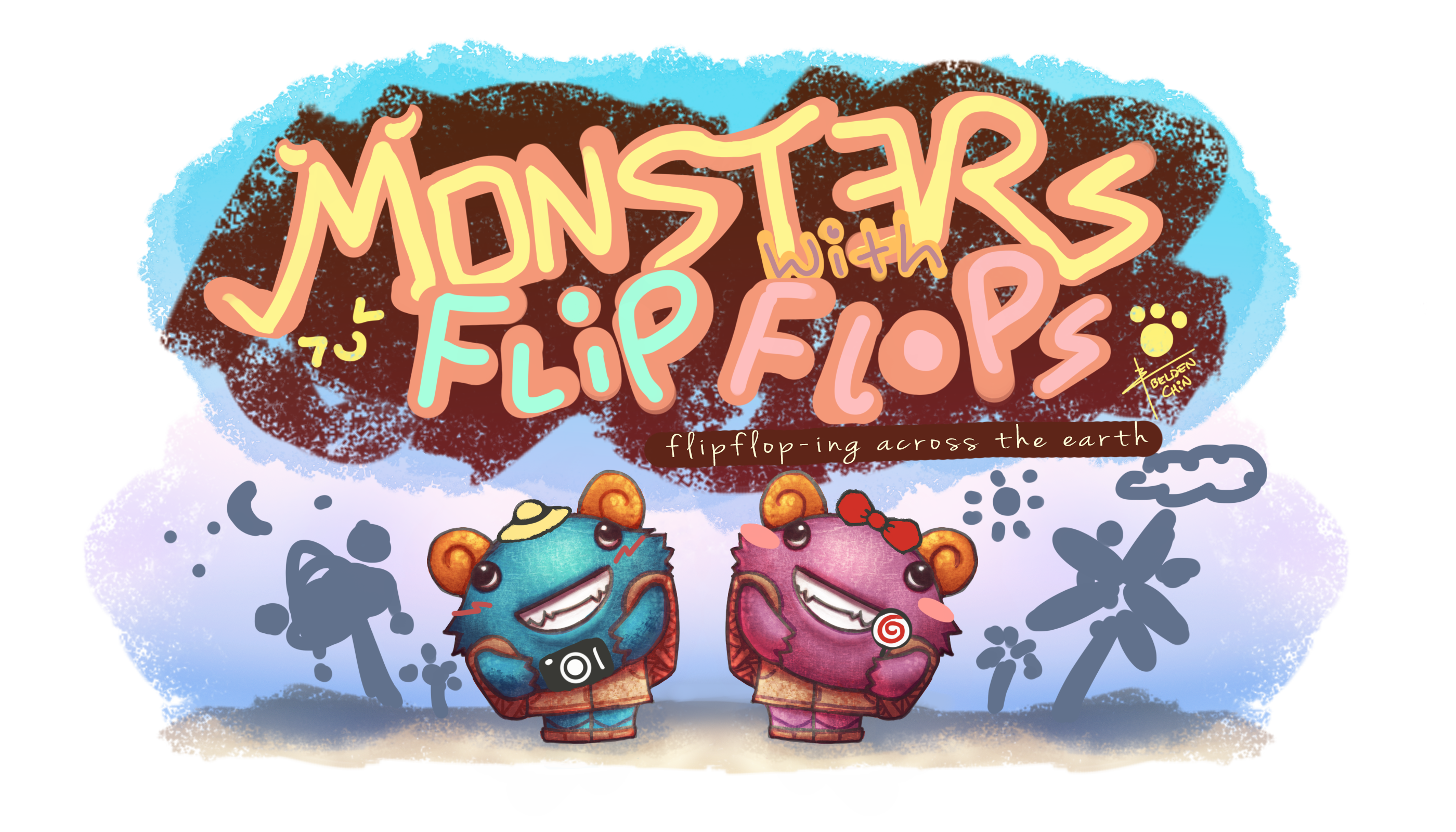 Monsters With Flipflops